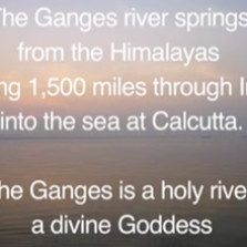 The Priest Scientist and the Holy River