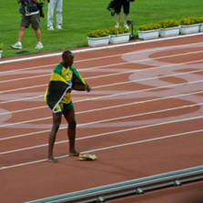 Bolt for Gold in London Olympic 100 meters?