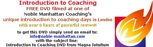 Noblle Manhattan Coaching - Introduction to Coaching DVD